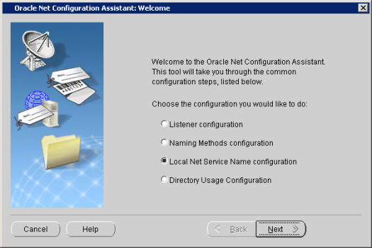 Oracle Net Configuration Assistant_ Welcome