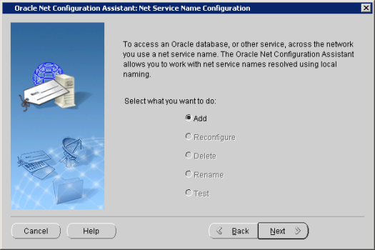 Oracle Net Configuration Assistant_ Net Service Name Configuration