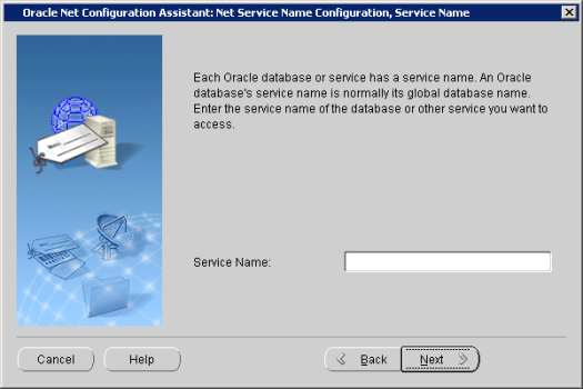 Oracle Net Configuration Assistant_ Net Service Name Configuration, Service Name